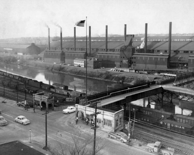 Youngstown Sheet and Tube, circa the late 1950s. (Credit: Youngstown Historical Center of Industry and Labor)