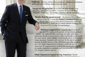 Ripon Profile — Senator Bill Frist