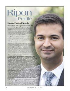 Ripon Profile - Carlos Curbelo