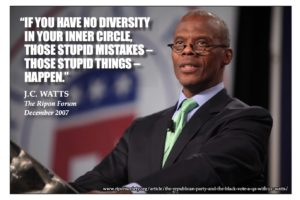 #TBT – JC Watts says listening to a diverse set of voices should be a priority for the GOP