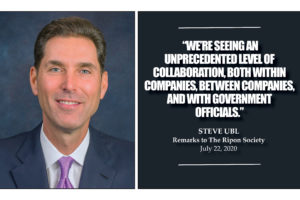 PhRMA Head Steve Ubl Highlights Industry Response to Global Pandemic